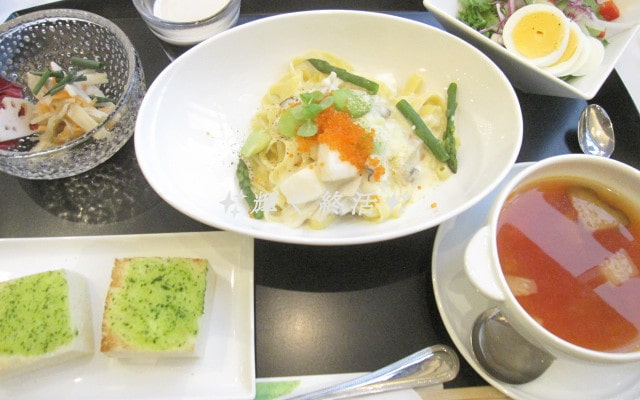 サンシティ立川昭和記念公園 ランチ試食